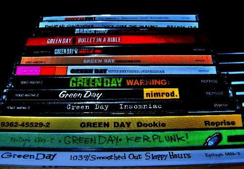 Green Day Albums. :)