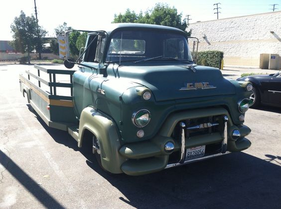 My 1956 Gmc Lcf Car Hauler The 1947 Present Chevrolet Amp Gmc Truck Message Board Network
