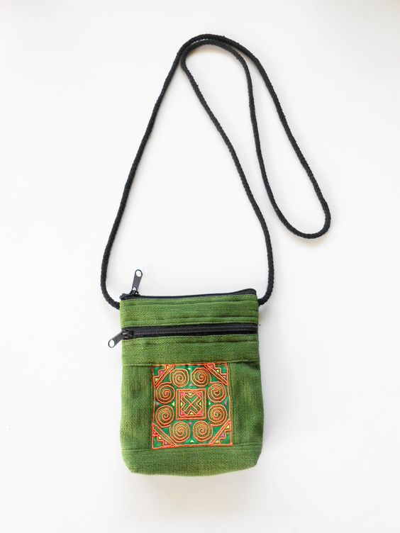 embrodered phone bag - Google Search