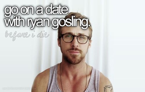 Or at least ask him out on a date.