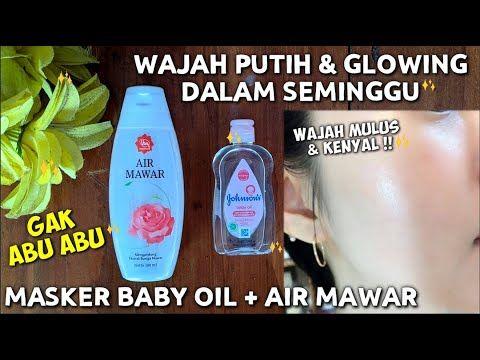 Cara Membuat Wajah Putih Glowing Hanya Dengan Air Mawar Dan Baby Oil Wulanhusna Youtube Di 2021 Produk Perawatan Kulit Alami Jerawat Perawatan Kulit Alami