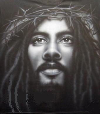 Black Jesus, Jamaican style                                                                                                                                                     More