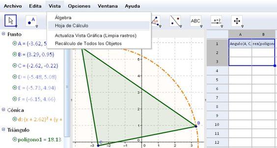 GeoGebra es un completo software gratuito diseñado exclusivamente para el aprendizaje de las matemáticas, totalmente interactivo y multiplataforma.