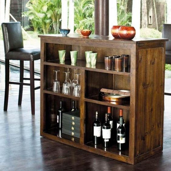 Charming Small Home Bar Ideas And Modern Furniture For Home Bars