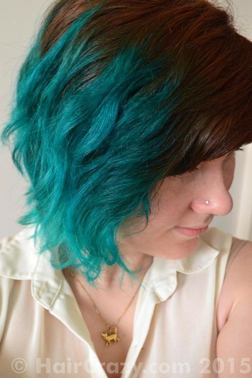 Parmajana Adore Aquamarine Crazy Color Pine Green