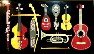 Vtg 50s 60s WORCESTER WARE atomic Musical Magazine Rack Eames Panton Modernist | eBay