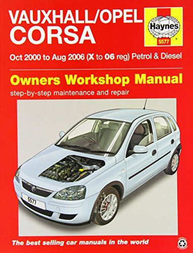 From 8 78 Vauxhall Opel Corsa Service And Repair Manual 2000 2006 Haynes Service And Repair Manuals Opel Corsa Vauxhall Opel