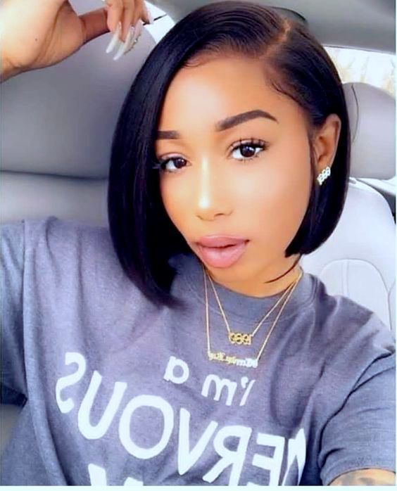 Presently The Trend Of Short Hair Is High Bob Hairstyles This Short Hairstyle Wil Bob Hairstyles For Thick African American Bobs Hairstyles Short Hair Black