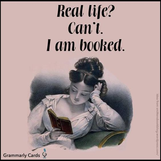 Real life? I can't I'm booked - #curtnerds - Reading, Libraries, Books & Spaces:
