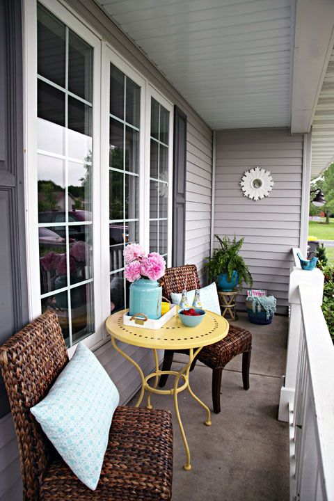 Totally inspired to fix up my front verandah!  93 June Monthly Challenge: A Refreshing Porch Revamp!