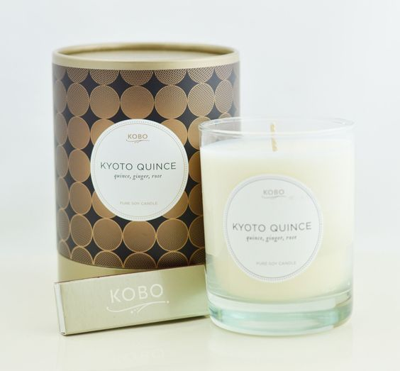 Kyoto Quince Candle design by Kobo Candles