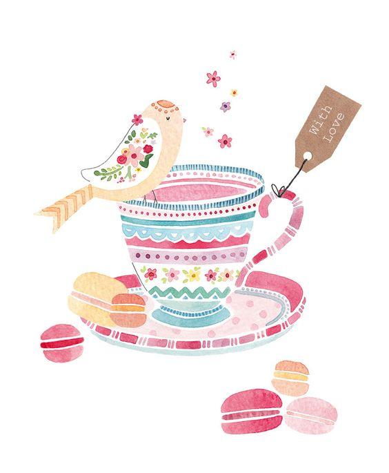 Desenho xícara
