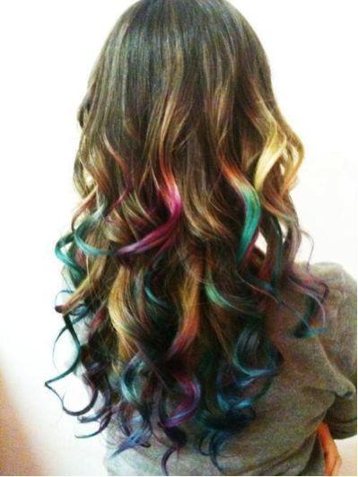 Rainbow Tipped So Pretty