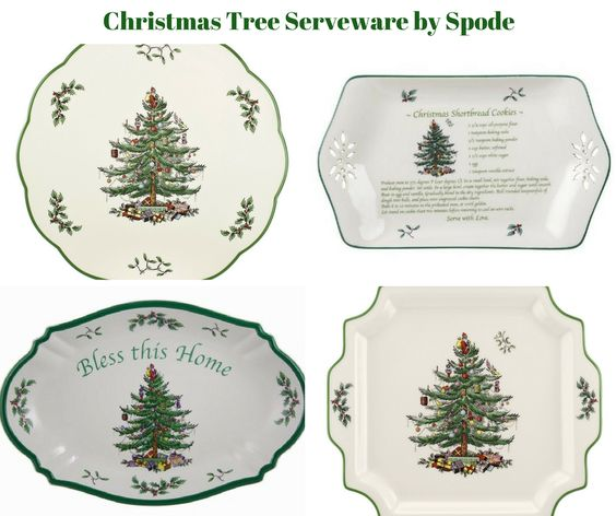 Christmas Tree Serveware by Spode