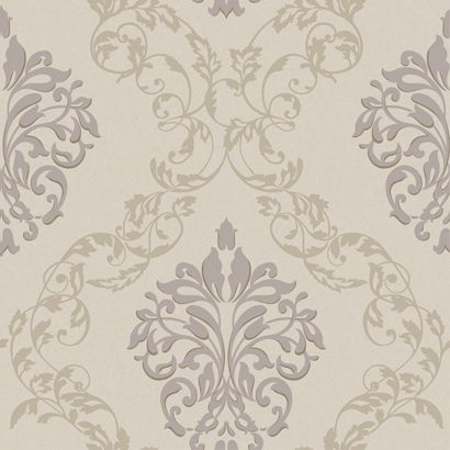 LP9838 Leafy Damask Ogee 929 Royal Cottage