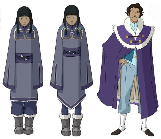 Be among the first to get details on the newest characters from Book 2!  The Legend of Korra: Enchanced Experience iBook is now available FREE for your iPadand full of in-depth character bios, never-before-seen animatics and an exclusive scene from the upcoming season!  Check out some of the characters youll meet inside: Korras twin cousins Esna and Eska, and an eccentric billionaire shipping magnate named Varrick. DOWNLOAD NOW
