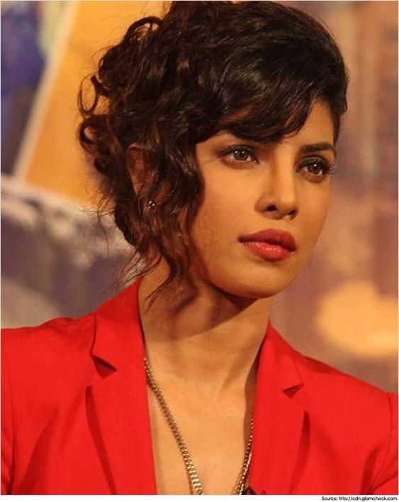 Bollywood Celebrity Priyanka Chopra Hairstyles & Haircuts ...