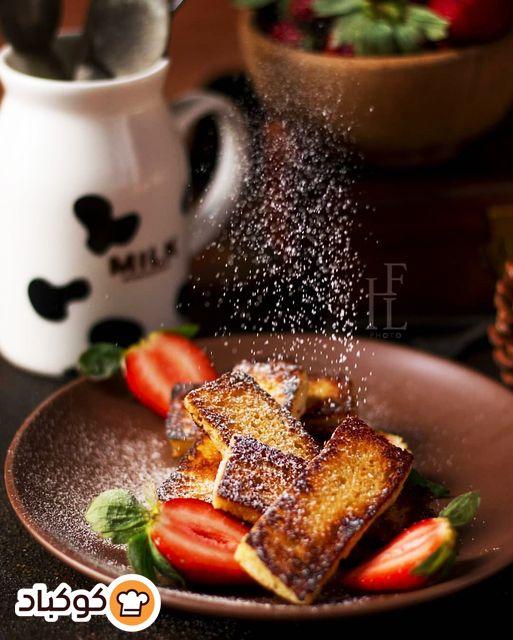 اصابع الفرنش توست بالصور من Lhf Recipe Breakfast Food French Toast