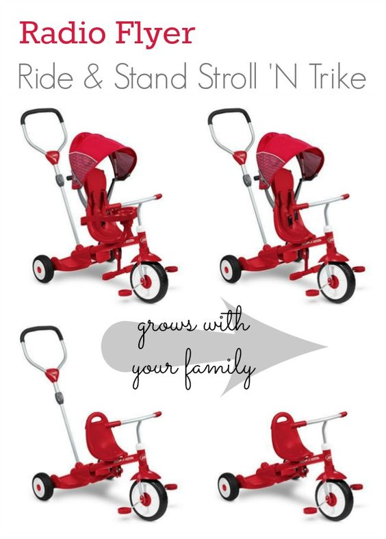 Radio Flyer Sit & Stand Roll 'N Trike & #HowDoYouRoll Giveaway | The Shopping Mama