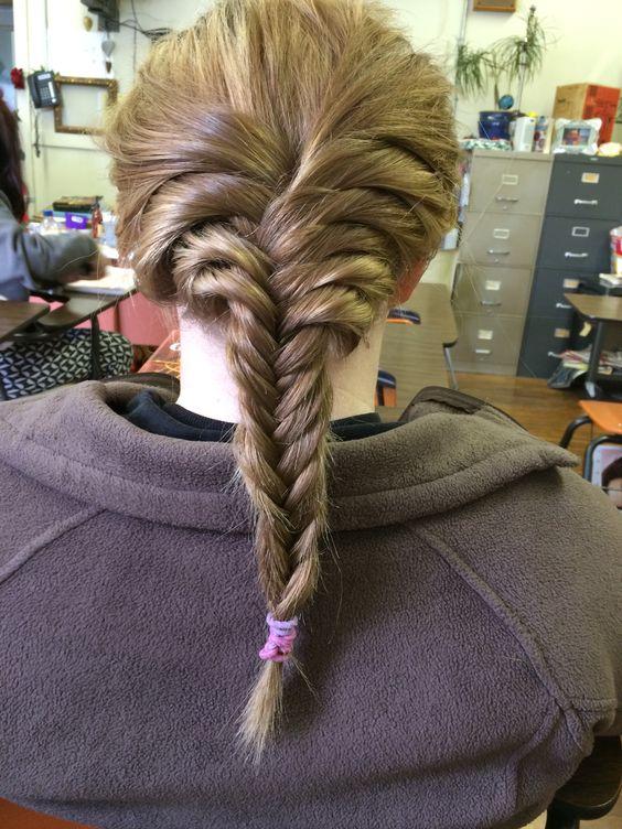 Fish tail braid, done by aly :) thank ya girly!