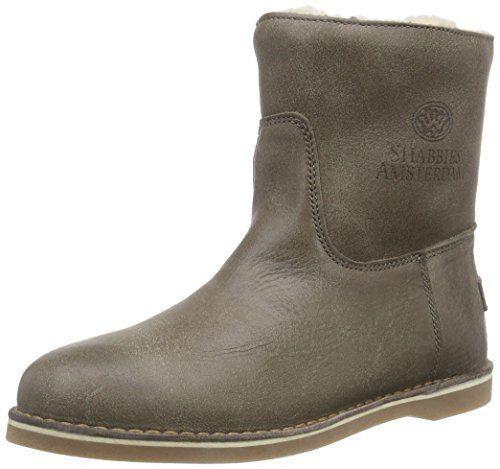 Shabbies Amsterdam Shabbies  short boot 16cm with Real Wool lining Alissa as FW2014 Damen Kurzschaft Stiefel - http://on-line-kaufen.de/shabbies-amsterdam/shabbies-amsterdam-shabbies-short-boot-16cm-with
