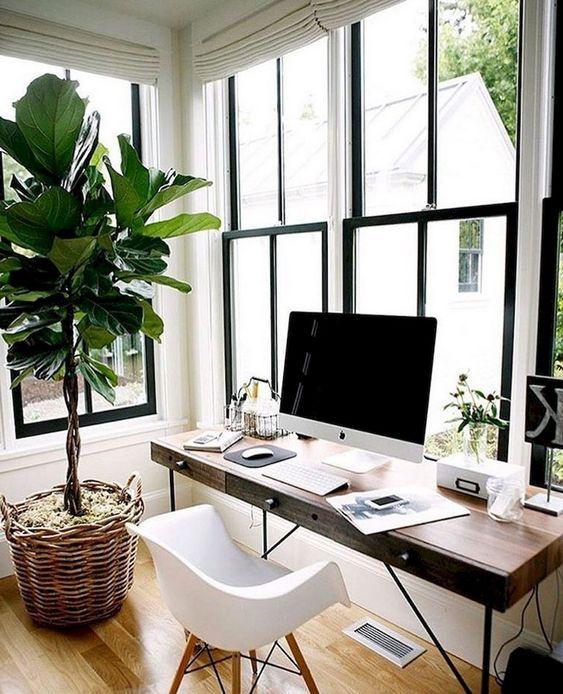 8 Amazing Creative Home Office Design Ideas Cozy Home Office Home Office Design Home Office Furniture