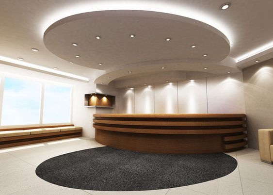 Office Reception Lighting Reception Area Pinterest Halo Receptions And Ceilings
