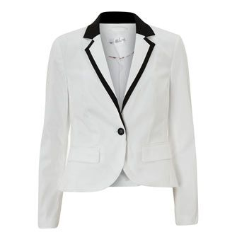 BAF Woman Black & White Contrast Blazer-did buy and did not wear