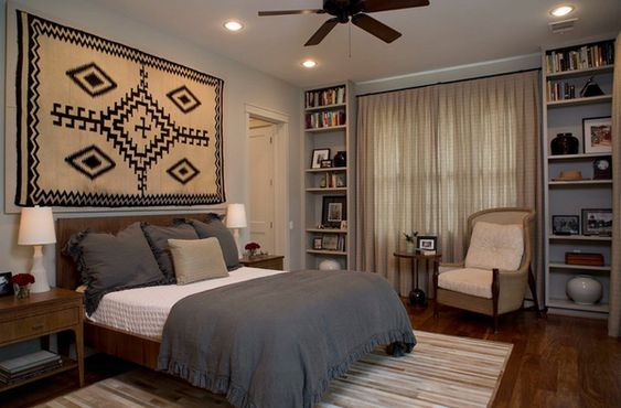 20 Fancy Bedrooms with Two Focal Points