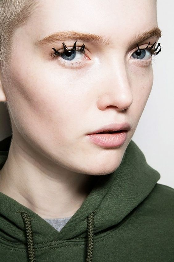 Spider lashes at the Jason Wu show ytinifninfinity.: