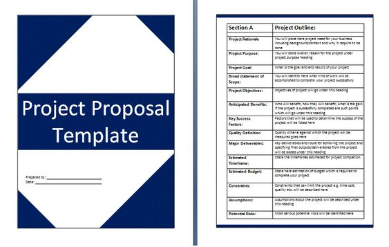 Project Proposal Template – Project Proposal Template Free