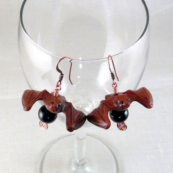 Wooden Bats Earrings