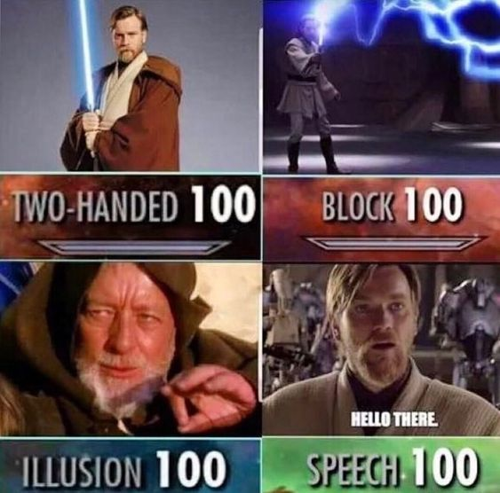 Skyrim Elder Scrolls Meme With Images Star Wars Jokes Skyrim