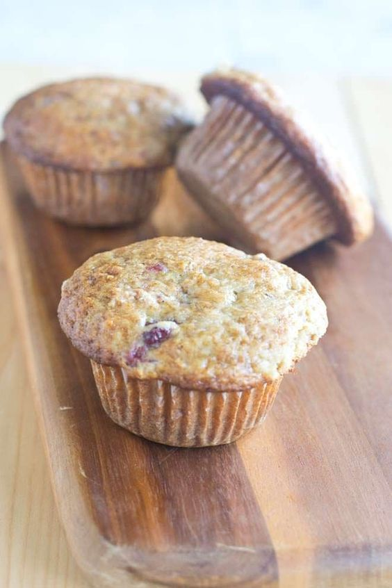 If you have leftover cranberry sauce on Black Friday, you have GOT TO try these cranberry sauce muffins.