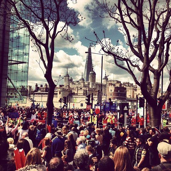 London Marathon 2012 - Tower Hill, London