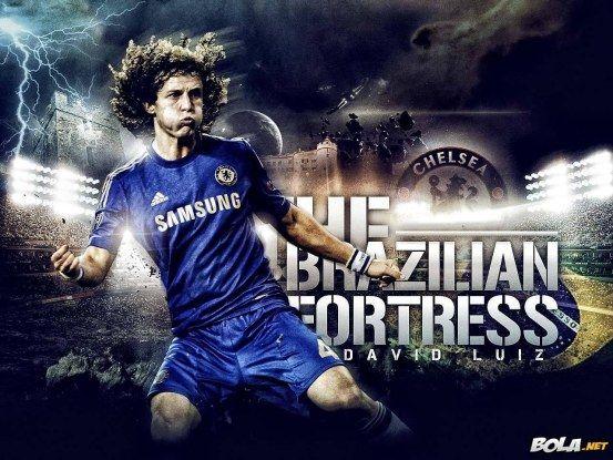 David Luiz Chelsea Wallpaper Hd Wallpaper