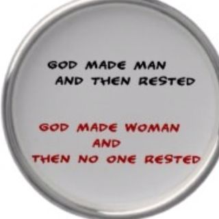 So true as mommies n grandma there's no rest !!!! But in him :)