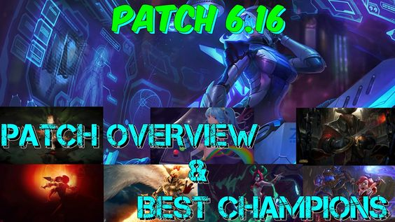 Patch 6.16 Overview & Best Champions https://www.youtube.com/watch?v=JgiGPtYuc2Y #games #LeagueOfLegends #esports #lol #riot #Worlds #gaming