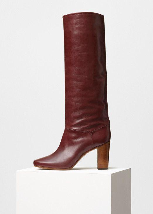 Heritage Boot in Shiny Calfskin - セリーヌについて