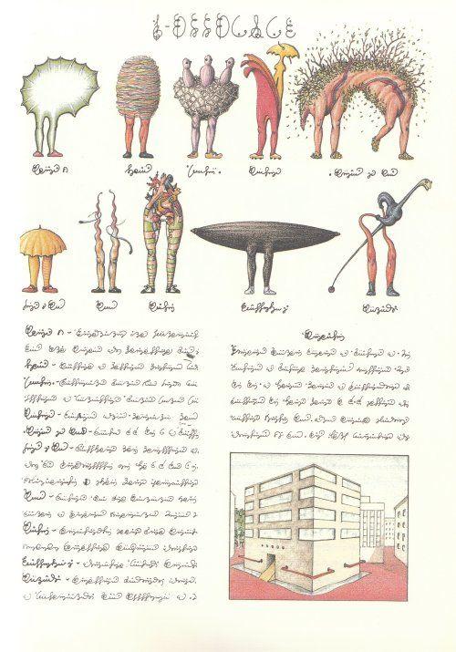 Codex Seraphinianus - Pagina 4