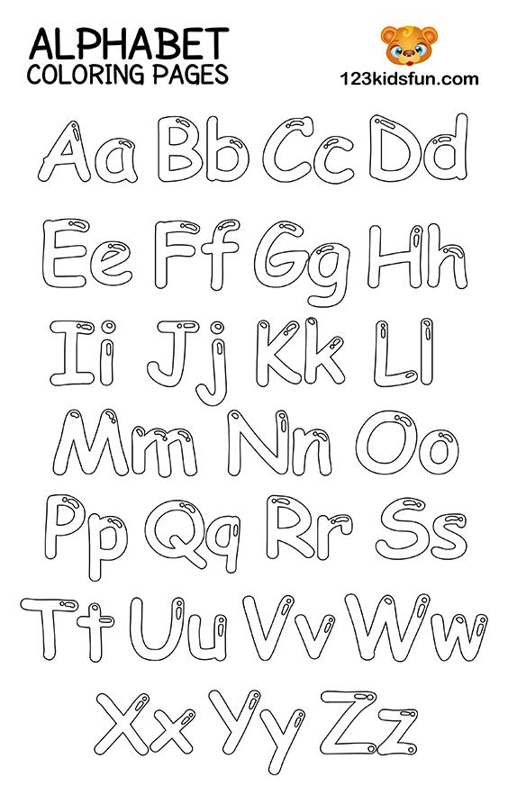 Free Printable Alphabet Coloring Pages For Kids 123 Kids Fun Apps Abc Coloring Pages Coloring Worksheets For Kindergarten Alphabet Coloring Pages