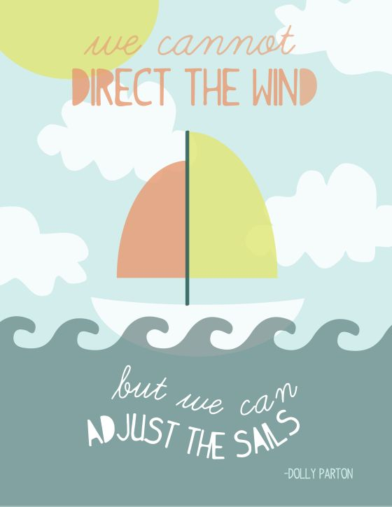 Sailboats and Life