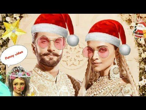Top Funny Video Deepika Padukone And Ranveer Singh Live Updates Christmas Video Youtube