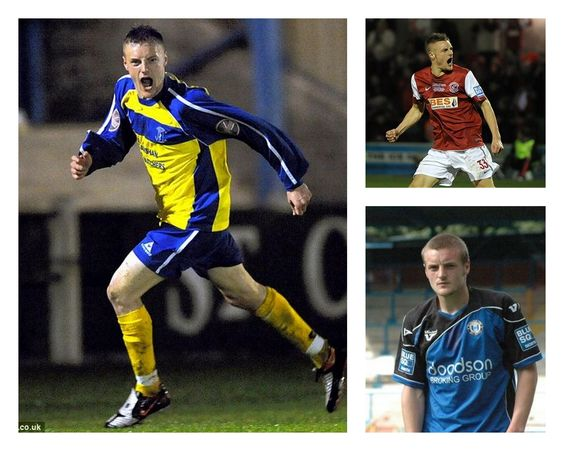 Jamie Vardy, Stocksbridge Park Steels, Halifax Town e Fleetwood Town.