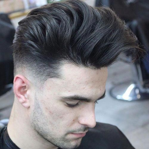Long Hair Pompadour Menshairstyles Mens Hairstyles Pompadour Long Hair Styles Men Mens Haircuts Fade