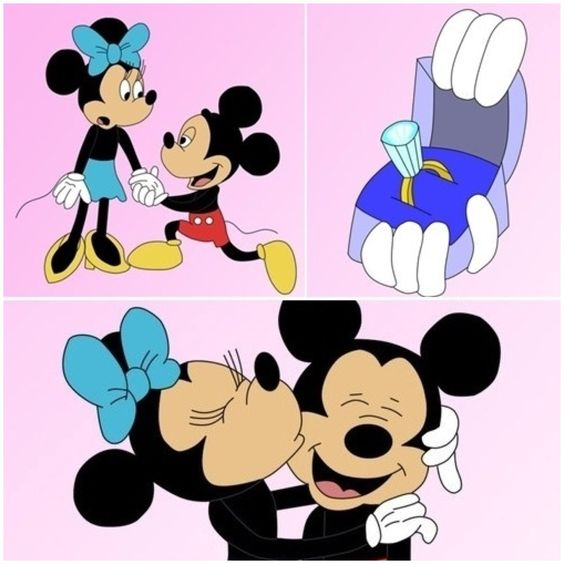 """mickey and minnie dating or married Wish them well with """"ears to the bride & groom"""" they can toast their happiness with the mickey mouse etched flutes and disney exclusive """"wishes."""