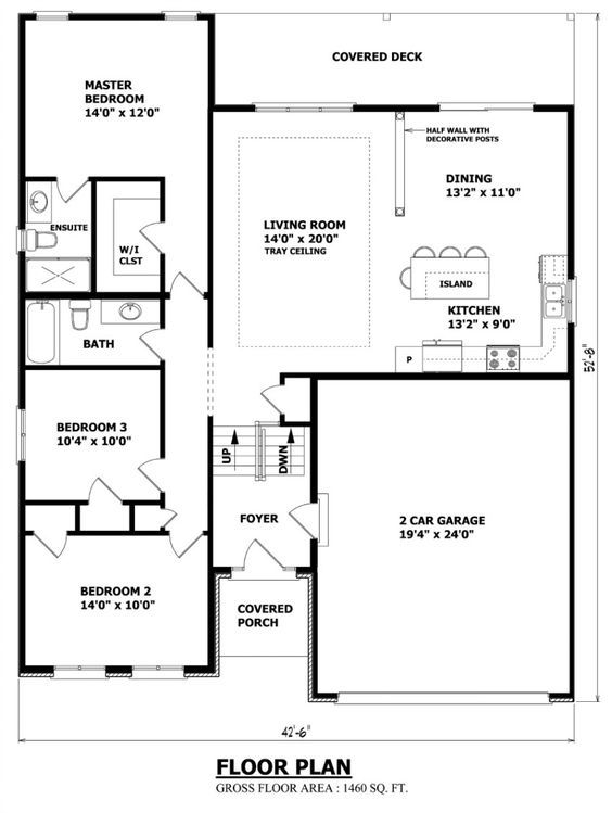 Favorite Raised Bungalow Plan Ever Bungalow House Plans Custom Floor Plans House Plans