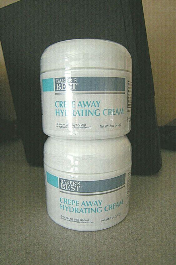 Baker S Best Crepe Away Hydrating Cream 2oz Jar New Stock Anti Aging Skin Care Bakersbest Anti Aging Skin Products Hydrating Cream Anti Aging Skin Care