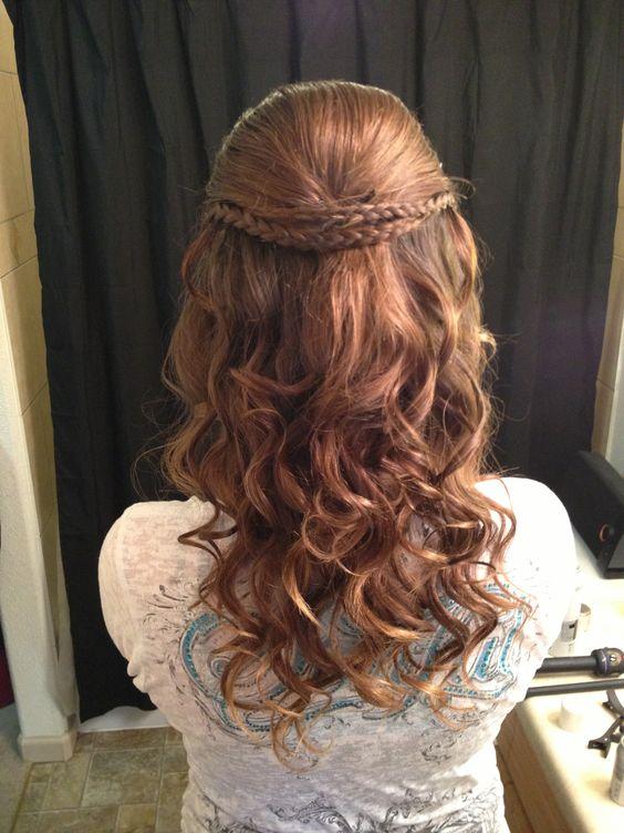 Phenomenal Homecoming Hairstyles Homecoming And Hairstyles On Pinterest Hairstyles For Women Draintrainus