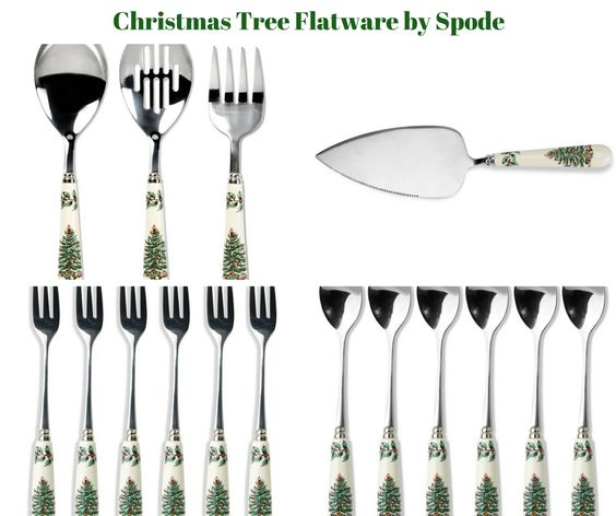 Christmas Tree Flatware by Spode
